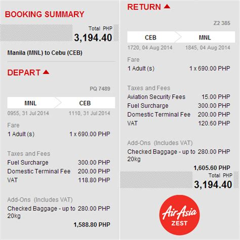 airasia zest manage booking airasia zest now in the philippines pinoy fitness
