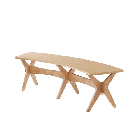 curved dining benches laxa oak curved dining bench