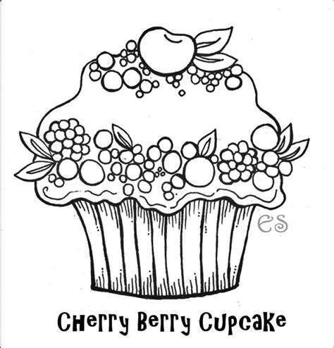 coloring pages for adults cupcakes free printable cupcake coloring pages for kids adult