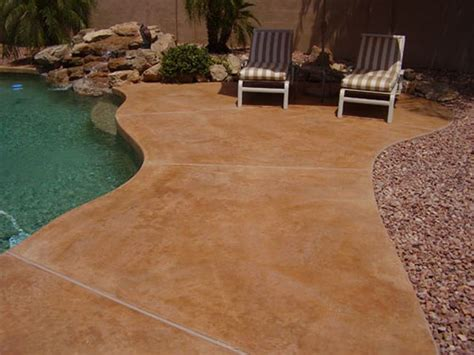 Stained Concrete Patio Pictures - concrete patios concreteideas