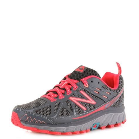womens new balance 610v3 grey pink fitness shoes