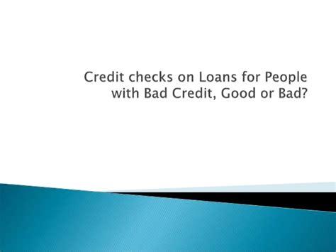 Credit Check And Background Check Credit Checks Or Bad