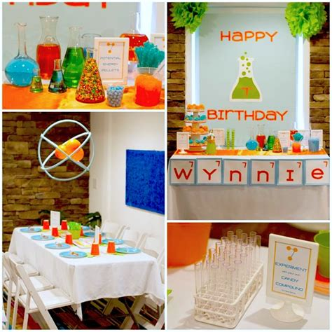 photo themed party kara s party ideas science party ideas planning idea