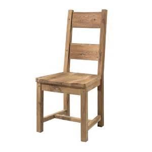 chaise en ch 234 ne massif huil 233 assise bois