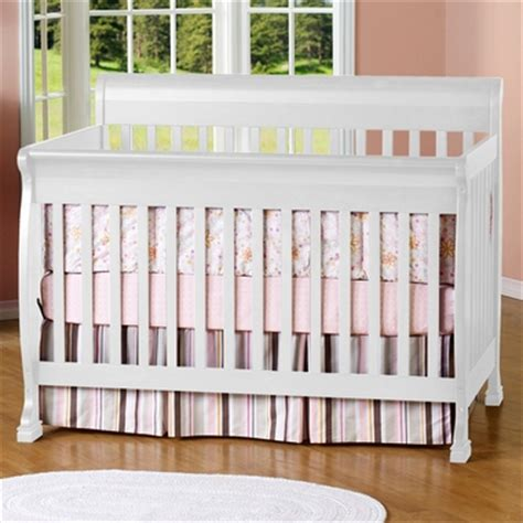 davinci kalani convertible crib white davinci kalani 4 in 1 convertible crib in white m5501w