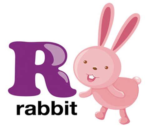 R Rabbit vocabulaire anglais l alphabet alphabet anglais facile