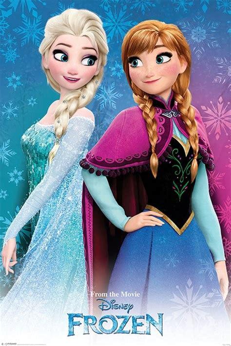 wallpaper frozen sisters poster quadro frozen sisters em europosters pt