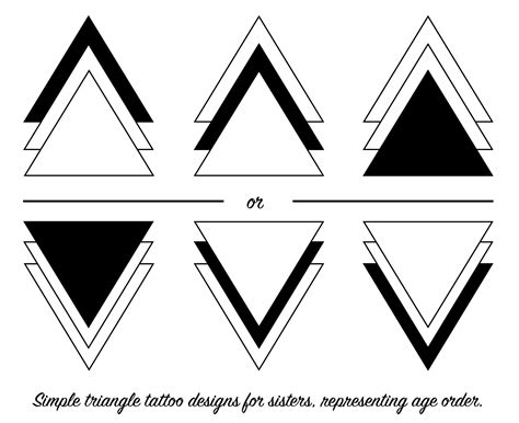 three triangle tattoo triangle tattoos for tattoos