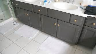 Painted Bathroom Cabinets Ideas Painted Bathroom Cabinet New House