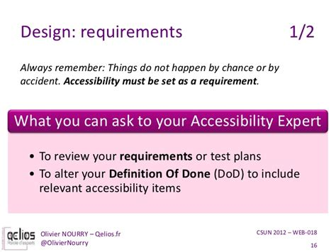 design expert definition get the most out of your accessibility expert