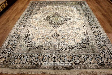 natur teppiche flachgewebe echter perser teppich 344 x 245 rug felder natur