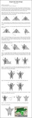 How To Fold Origami Turtle - origami sea turtle instr by donyaquick on deviantart