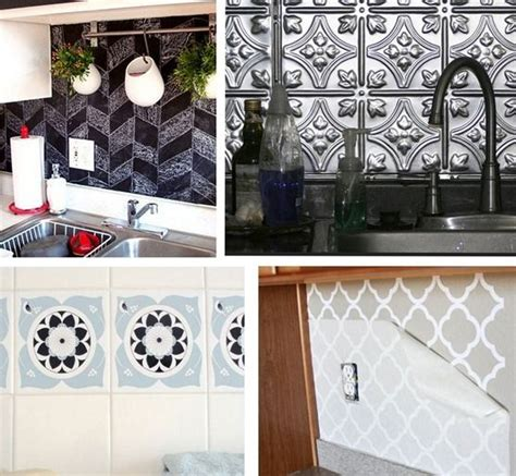 25 best ideas about removable backsplash on
