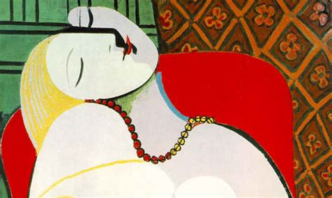 picasso paintings le reve le r 234 ve by pablo picasso galleryintell