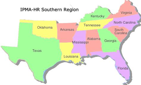 map of the united states southern region southern states images reverse search