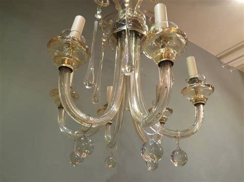 Vintage Italian Murano Chandelier For Sale At 1stdibs Italian Murano Chandeliers