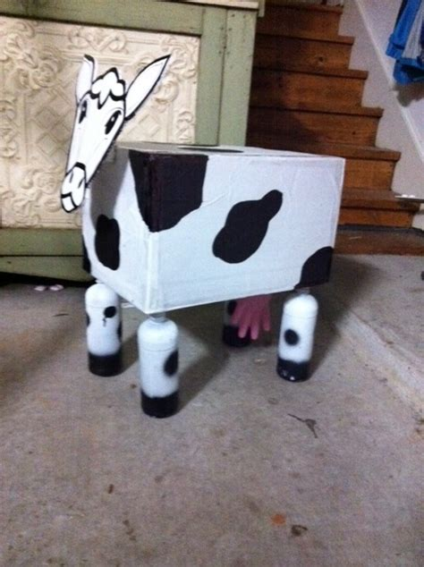cow box what can you do with an empty box 4 plastic bottles and