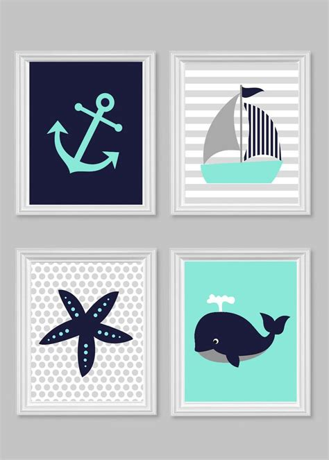 nautical nursery wall decor best 25 nursery ideas on theme
