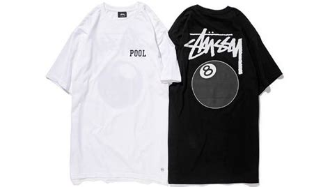 Kaos Stussy 8ball Putih 4 indonesia sneaker team the pool shinjuku x stussy t