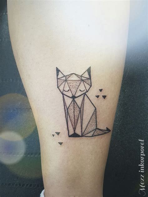 Origami Tattoos - best 25 origami ideas on small animal