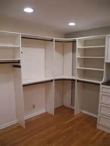 corner closet shelving corner closet storage master closet view of her and