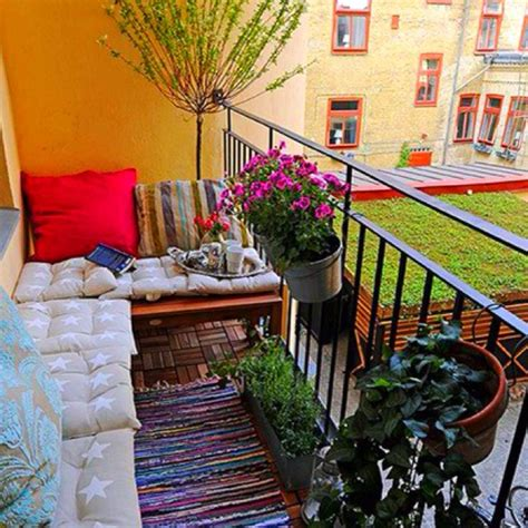 Patio Chairs For Small Balcony Best 20 Small Balcony Design Ideas On Balcony
