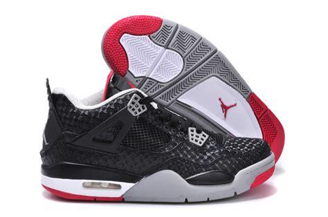 men jordan 4 c many kinds of nike air jordan 4 shoes men s scales black