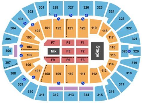 detailed seating chart bok center tulsa bok center tickets in tulsa oklahoma bok center seating