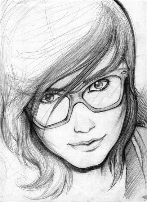 pencil drawing person 25 beautiful easy pencil drawings ideas on