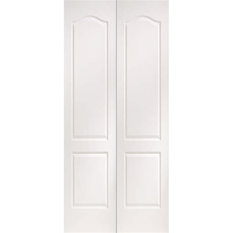 2 Panel Bifold Closet Doors Enlarged Image