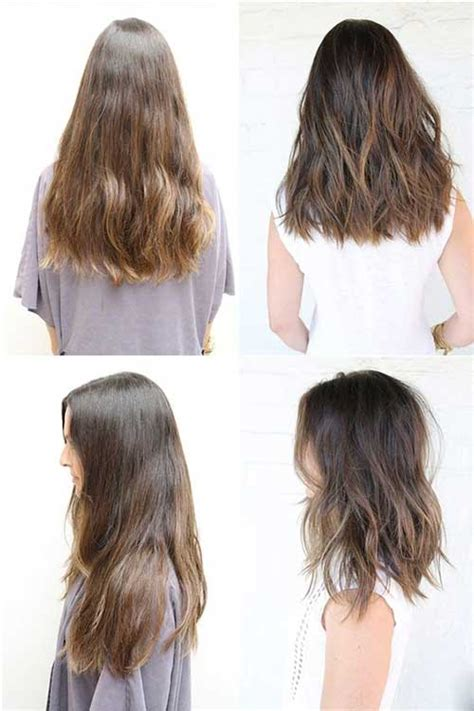 mid length hair cuts longer in front really trendy 20 medium long haircuts long hairstyles