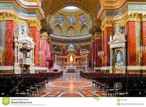 basilique budapest s int 233 rieur stephen photos stock