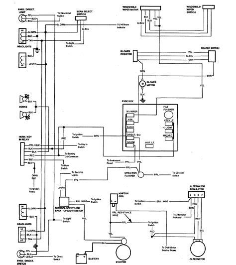 el camino wiring diagram wiring diagrams 59 60 64 88 el camino central forum