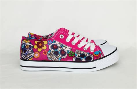 skull shoes for day of the dead day of the dead shoes custom shoes