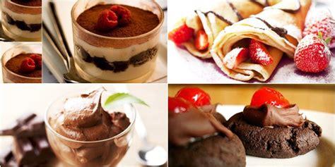 Permen Makanan Manis kuliner 6 resep olahan serba cokelat yang manis dan