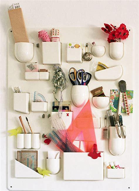 diy decorations with office supplies past present uten silo diy wall organizer design sponge