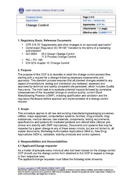 Blog Archives Turbabitventures Equipment Operating Procedure Template