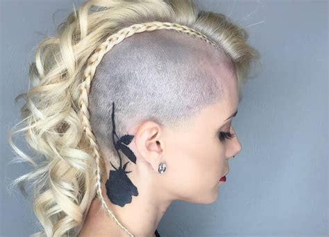 peerless mohawk hairstyles  blonde women