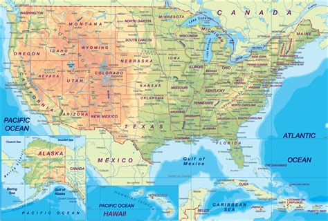 us cities map geography us maps with states
