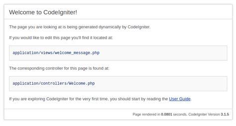 codeigniter tutorial scratch codeigniter tutorial for beginners codexworld