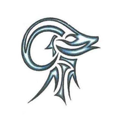 tribal ram stencil design tattoowoo tattoos tribal aries ram with blue shading design