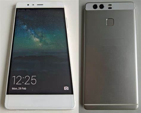 Huawei P9 huawei s unannounced p9 with dual system shows up