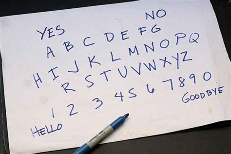How To Make A Wigi Board Out Of Paper - ouija boards crystalinks