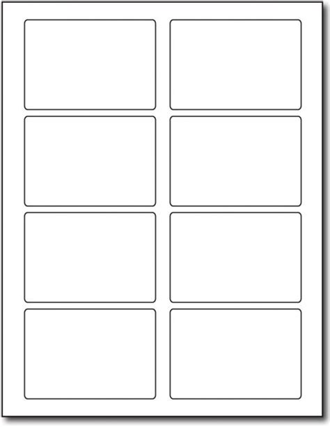 Label Template 12 Per Sheet Printable Label Templates 6 Per Sheet Label Template