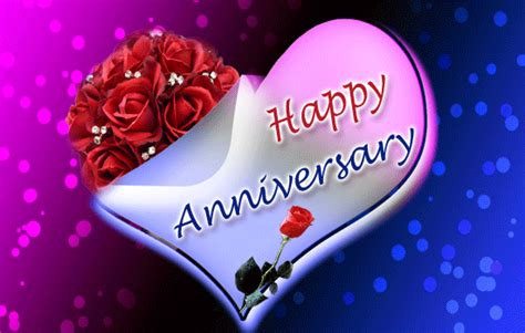Happy Wedding Anniversary Animated Gif by Animated Happy Anniversary Image Pictures Photos And