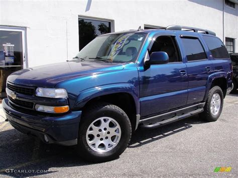 2006 bermuda blue metallic chevrolet tahoe z71 4x4 17254020 gtcarlot car color galleries