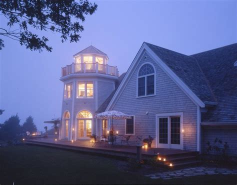cape cod lighthouse home style exterior