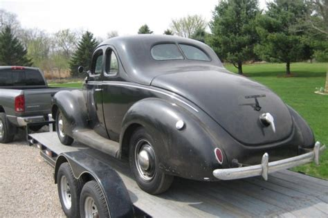 1939 ford coupe 40 years stored 1939 ford standard coupe bring a trailer