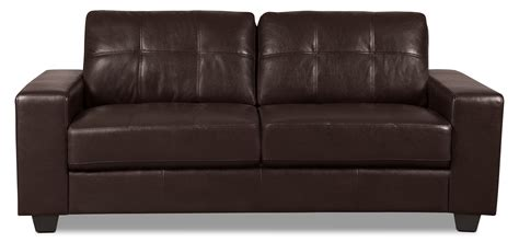 leather look sofas costa leather look fabric sofa brown united furniture