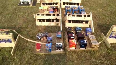 backyard firework show 2015 extreme backyard firework display setup youtube